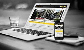 Alpes Taxis Transports : Responsive Web Design